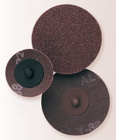 Laminated Cloth Discs - A36/Brown, 2""