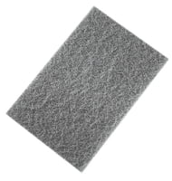 "Non-Woven Hand Pads - 6"" X 9"" Gray"