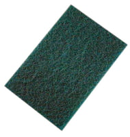 "Non-Woven Hand Pads - 6"" X 9"" Green"