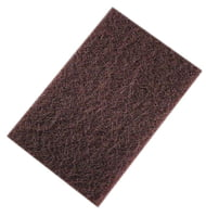 "Non-Woven Hand Pads - 6"" X 9"" Maroon"