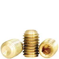 6-32 x 1/8 SOCKET SET SCREW BRASS
