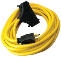 Generator Extension Cord, 25 ft, 3 Outlets