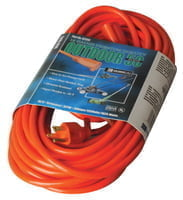Vinyl Extension Cord, 50 ft, 1 Outlet