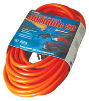 172-02408 Vinyl Extension Cord, 50 ft, 1 Outlet