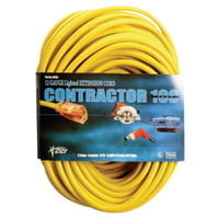 172-02588-0002 Vinyl Extension Cord, 50 ft, 1 Outlet