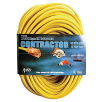 172-02589-0002 Vinyl Extension Cord, 100 ft, 1 Outlet