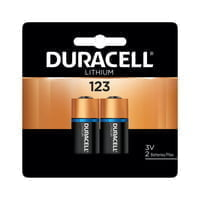Duracell Batteries, Lithium Cell, 3 V, 123