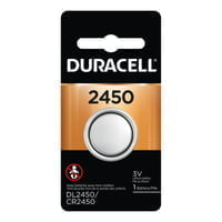 Duracell Batteries, Lithium Cell, 3 V, 2450