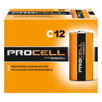 Duracell Procell Batteries, Non-Rechargeable Alkaline, 1.5 V, C