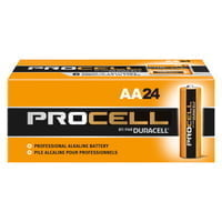 Duracell Procell Batteries, Non-Rechargeable Alkaline, 1.5 V, AA