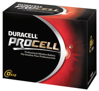 Duracell Procell Batteries, Non-Rechargeable Alkaline, 1.5 V, AAA