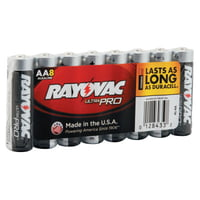 Maximum Alkaline Shrink Pack Batteries, 1.5 V, AA