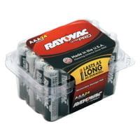 620-ALAAA-24PPJ Ultra Pro Alkaline Reclosable Batteries, AAA