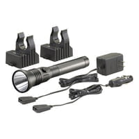 Stinger DS LED HP Flashlights, 1 3.6V, 200 lumens, AC/DC Charge Cords