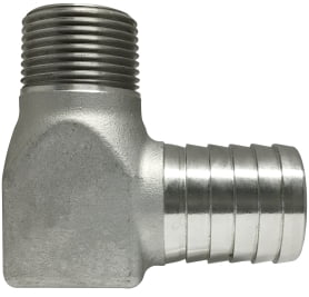 #304 SS Insert x Male Pipe Hydrant Elbow