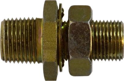 1/2 MIP Steel Bulkhead