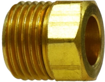 Inverted Flare Brass Nut