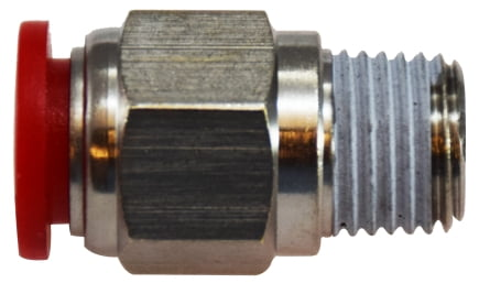 Male Adapter Nickel Plated