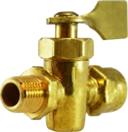 Male x Female Solid Bottom Fuel Valve