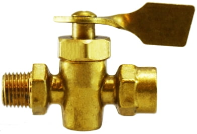 Male x Male Solid Bottom Fuel Valve