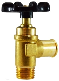 Hose To Male Pipe Brass Truck valve