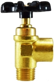 Female To Male Pipe Brass Truck Valve