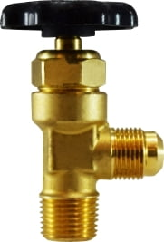 Flare To Male Pipe Brass Truck Valve