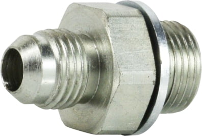 JIC to BSPP Male Connector