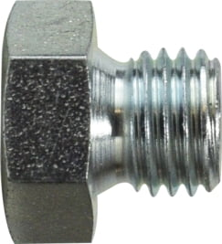Hex Head Plug Metric Parallel