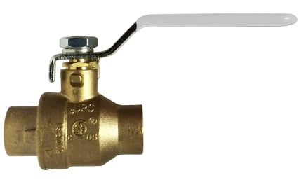 Lead Free China Ball Valve-NSF Listed--IPS and SWT