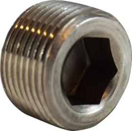 Hex Socket Plug 316 S.S.