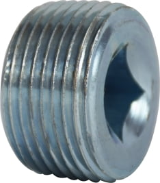 Galvanized Countersunk Plug Square Socket