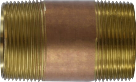 Brass Nipple 1-1/2 Diameter