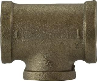 Lead Free Bronze Reducing Tees