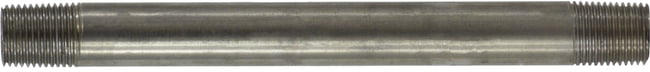 Stainless Steel Nipple 1/8 Diameter 304 S.S.