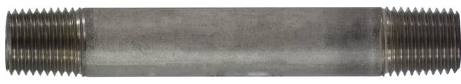 Stainless Steel Nipple 1/4 Diameter 304 S.S.