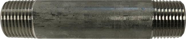 Stainless Steel Nipple 3/8 Diameter 304 S.S.