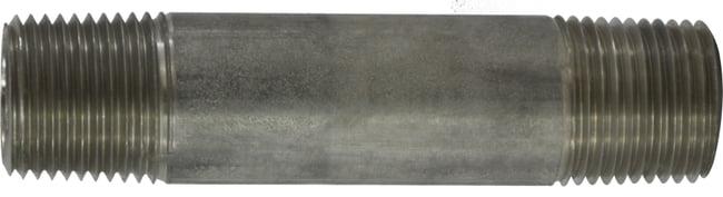 Stainless Steel Nipple 1/2 Diameter 304 S.S