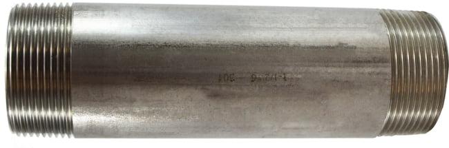 Stainless Steel Nipple 1-1/2 Diameter 304 S.S.