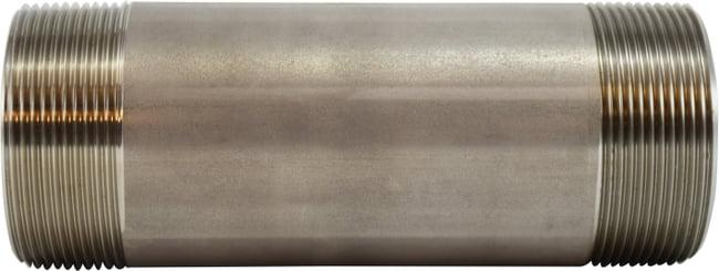 Stainless Steel Nipple 2-1/2 Diameter 304 S.S.
