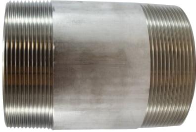 Stainless Steel Nipple 4 Diameter 304 S.S.