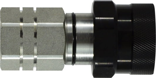 FLAT FACE THREAD LOCK VEP COUPLING