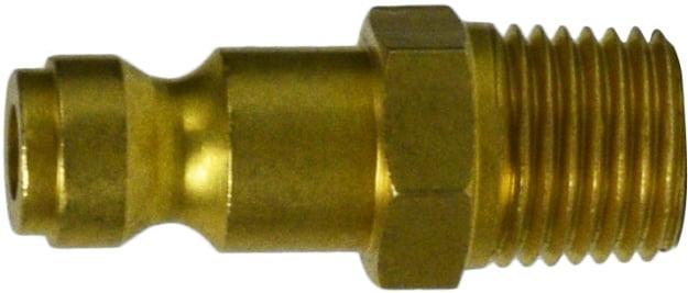1/4 Brass Male Plug