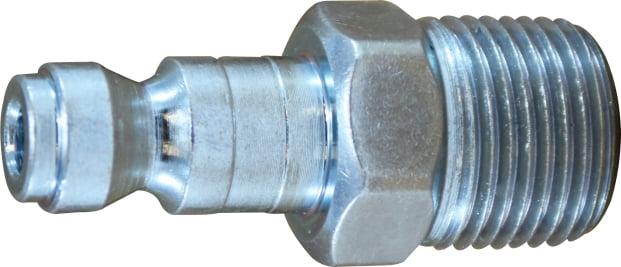 3/8 Auto Steel Male Plug