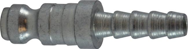 3/8 Auto Barb Steel Plug