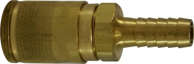 3/8 Auto Hose ID Brass Coupler
