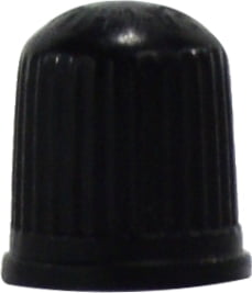 Black Plastic Cap