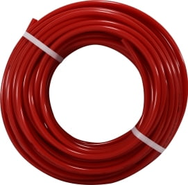 100 Red Polyethylene Tubing