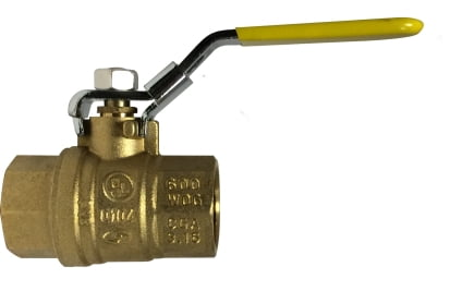Locking Handle Ball Valve