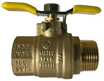 Male x Female Tee Handle Ball Valve